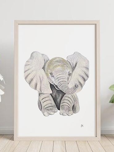 baby elephantt